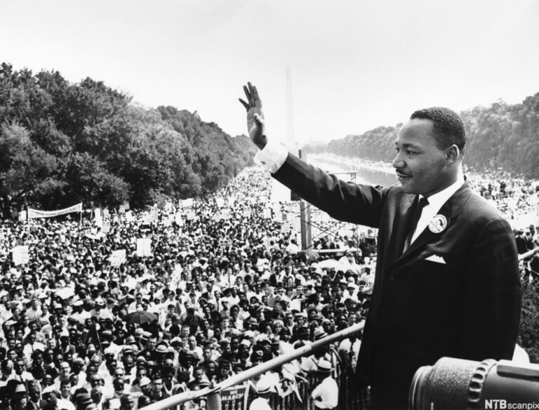 Martin Luther King Jr. at the 1963 March on Washington